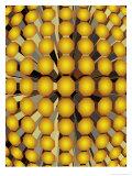 Geometric Cylinder Pattern Texture
