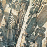 Aerial View of Chrysler Building