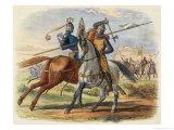 Before the Battle King Robert De Bruce VIII Kills Sir Henry De Bohun in Single Combat
