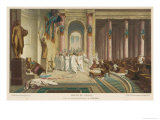 Julius Caesar is Assassinated in the Senate by Brutus and His Companions