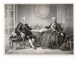 Gustav III Meets Catherine Empress of Russia at St Petersburg