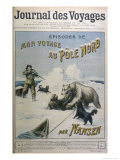 Fridtjof Nansen Norwegian Traveller  Title Page of Serialisation of His North Pole Expedition