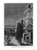 Alexandria Observatory: an Astronomer Using a Pre- Telescopic Sighting Instrument