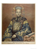 Tzu-Hsi Also Known as Hsiao-Ch'In &C Empress of China