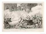 Battle of Ross: Rebels with Pikes Fight Soldiers with Rifles and Cannon