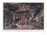 The Steelworks of John Brown and Co Sheffield Yorkshire: The 6000 Ton Forging Press