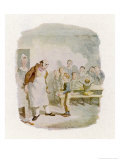 Oliver Twist in the Workhouse Dares to Ask for More Gruel