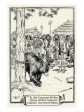 The Aino People of Japan Send a Bear as Messenger to Their Gods