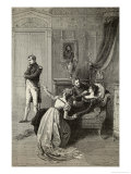 Napoleon Tells Josephine He is Going to Divorce Her for Dynastic Reasons
