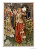 Guinevere and Her Ladies-In- Waiting in the Golden Days