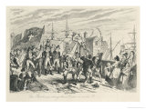 The Rebels Executing Their Prisoners on the Bridge at Wexford