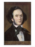 Felix Mendelssohn the German Composer as a Young Man