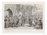Henry IV  Act V Scene V: Sir John Falstaff Receiving a Most Unexpected Rebuke from King Henry V
