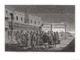Galileo Shows the Satellites of Jupiter to Venetian Senators