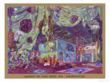 Scheherazade Set Design by Leon Bakst