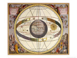 Representation of Ptolemy&#39;s System Showing Earth