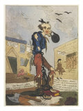 Satirical View of the Free- Born Englishman Following the Peterloo Massacre