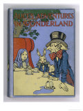 The Mad Hatter&#39;s Tea Party is Featured on the Cover of the 1916 Edition Published by Cassell