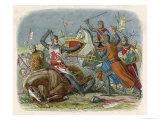 Simon De Montfort is Killed at the Battle of Evesham