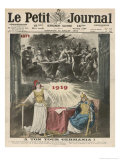 The Peace Treaty Avenges France for Her Loss of the Franco-Prussian War