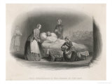Florence Nightingale with a Patient in the Hospital at Scutari