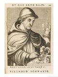 Berthold Schwarz German Monk and Alchemist Possibly Legendary