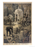Cemetery Looting 1917