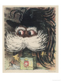 Umberto I King of Italy from 1878 Caricatured as a Frightening Jack-In-The-Box