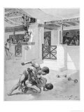 The Pancratium: Two Boys Wrestling