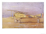 French Ace Georges-Marie Guynemer&#39;s Spad-VII Fighter in Which He Has Shot Down Many Enemy Aircraft