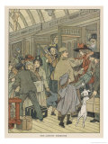 Children Arrive at a London Terminus