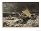 Fishing Fleet in Storm