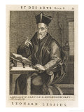 Scholar  Leonard Lessius a Jesuit to be Precise  Pauses Quill in Air