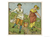Here are Jack and Jill Depicted Just a Moment Before the Disastrous Fall