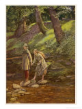 As You Like It  Rosalind and Celia and His Sister Aliena in the Forest of Arden