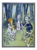 Wizard of Oz: Dorothy Oils the Tin Woodman&#39;s Joints