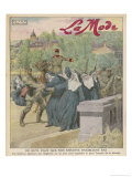 Nuns Tied to Bridge