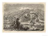 At Salamis the Greek Fleet Defeats the Persian Fleet