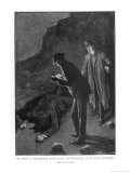 The Hound of the Baskervilles Holmes and Watson Discover &#39;A Prostrate Man