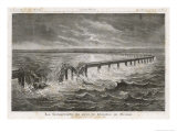 Tay Bridge Bridge Collapses During a Storm with Disastrous Consequences