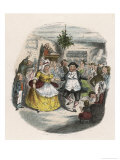Mrs Fezziwig&#39;s Ball  Shown to Scrooge by the Ghost of Christmas Past