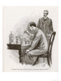 The Naval Treaty Holmes Busy with His Chemistry Apparatus at Baker Street