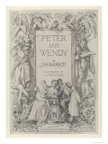 The Frontispiece to JMBarrie&#39;s Prose Version of Peter Pan