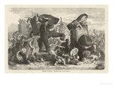 Ptolemy 1 Soter Ruler of Egypt Defeats Demetrius Poliorcetes at Gaza