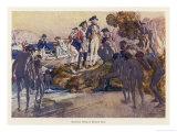 Captain Arthur Phillip Lands in Sydney Cove and Has His First Encounter with the Aboriginals