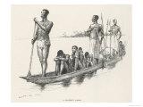 Congo Slaves in a Slaver's Canoe