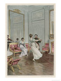 He Dances with Maria Luisa at Compiegne