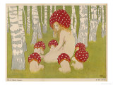 Creatures of the Woods in Their Toadstool Hats