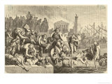 Rome is Sacked Plundered Looted by Gaiseric and His Fellow-Vandals