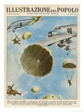 Italian Troops Parachute into Western Ethiopia During Their Invasion of the Country